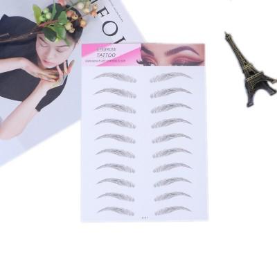 Arched Fluff| Waterproof Eyebrow Tattoos | Eyebrow Stickers