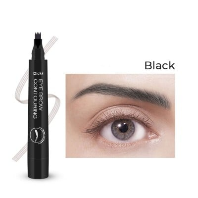 Eyebrow pencil with a Micro-fork Tip (5 colors available)