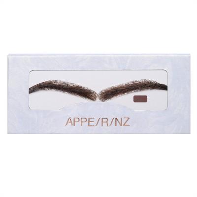 Mocha Arched Fake Eyebrows | Stick On Eyebrow Wigs