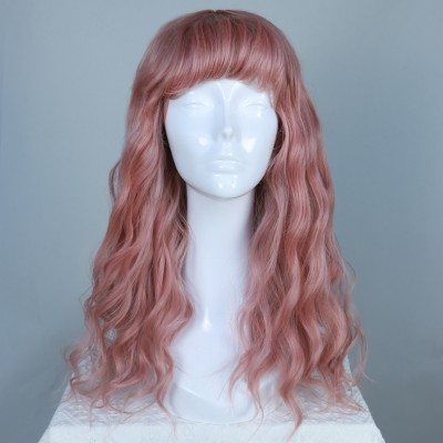 Sweet Kisses | Pink Synthetic Hard Front Wig