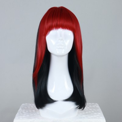 Cherry Crown | Black Synthetic Hard Front Wig